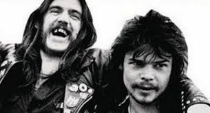 Lemmy and Phil Taylor